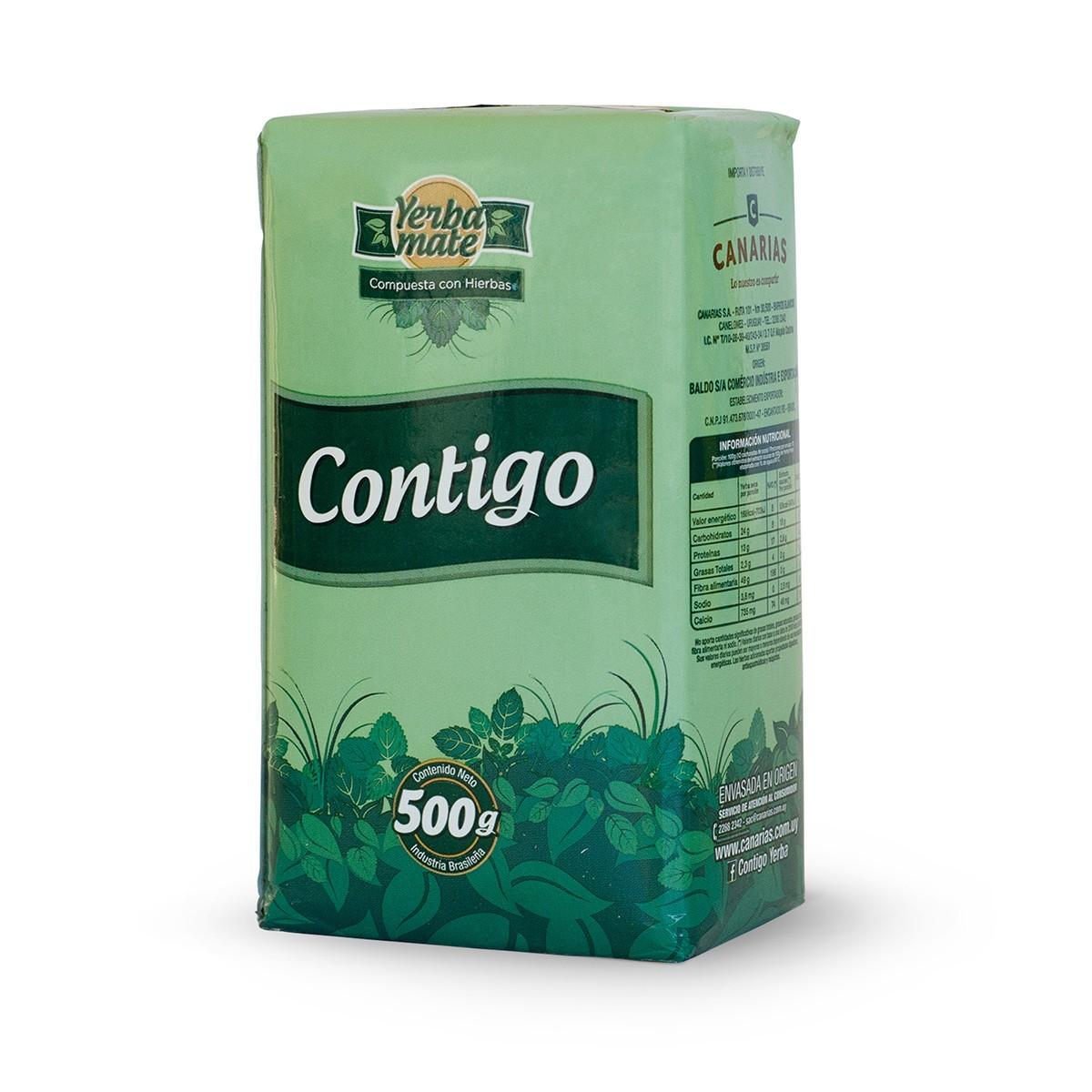 Erva Mate Yerba Mate Chimarrão Uruguaia Canarias Contigo 500 g
