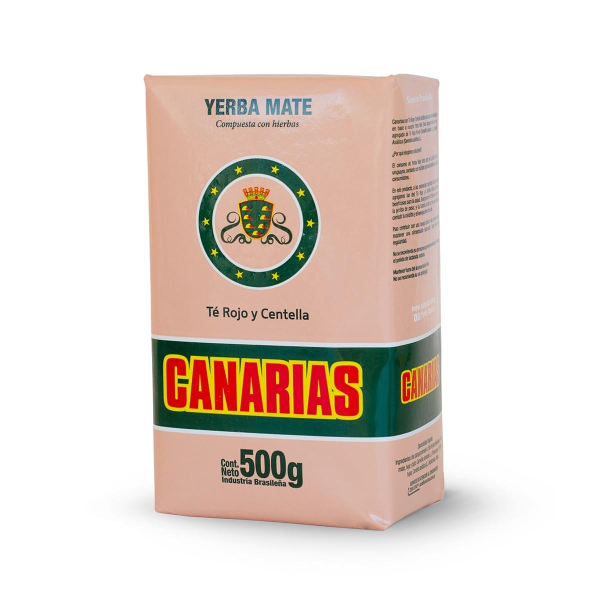 Erva Mate Yerba Mate Chimarrão Uruguaia Canarias Té Rojo y Centella 500 g