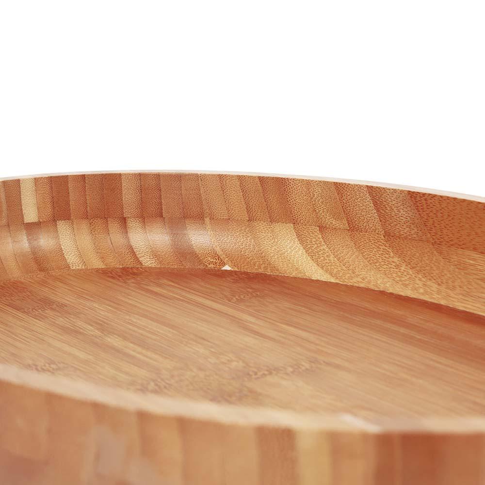 Gamela Churrasco Oval Bamboo 41x27cm