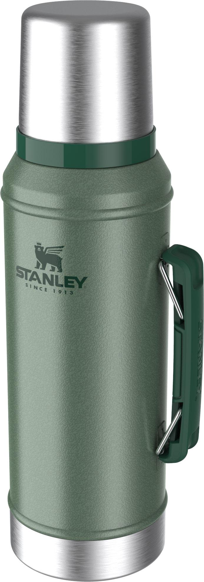Garrafa Classic Inox Verde 0,95 c/Rolha Precisao Stanley