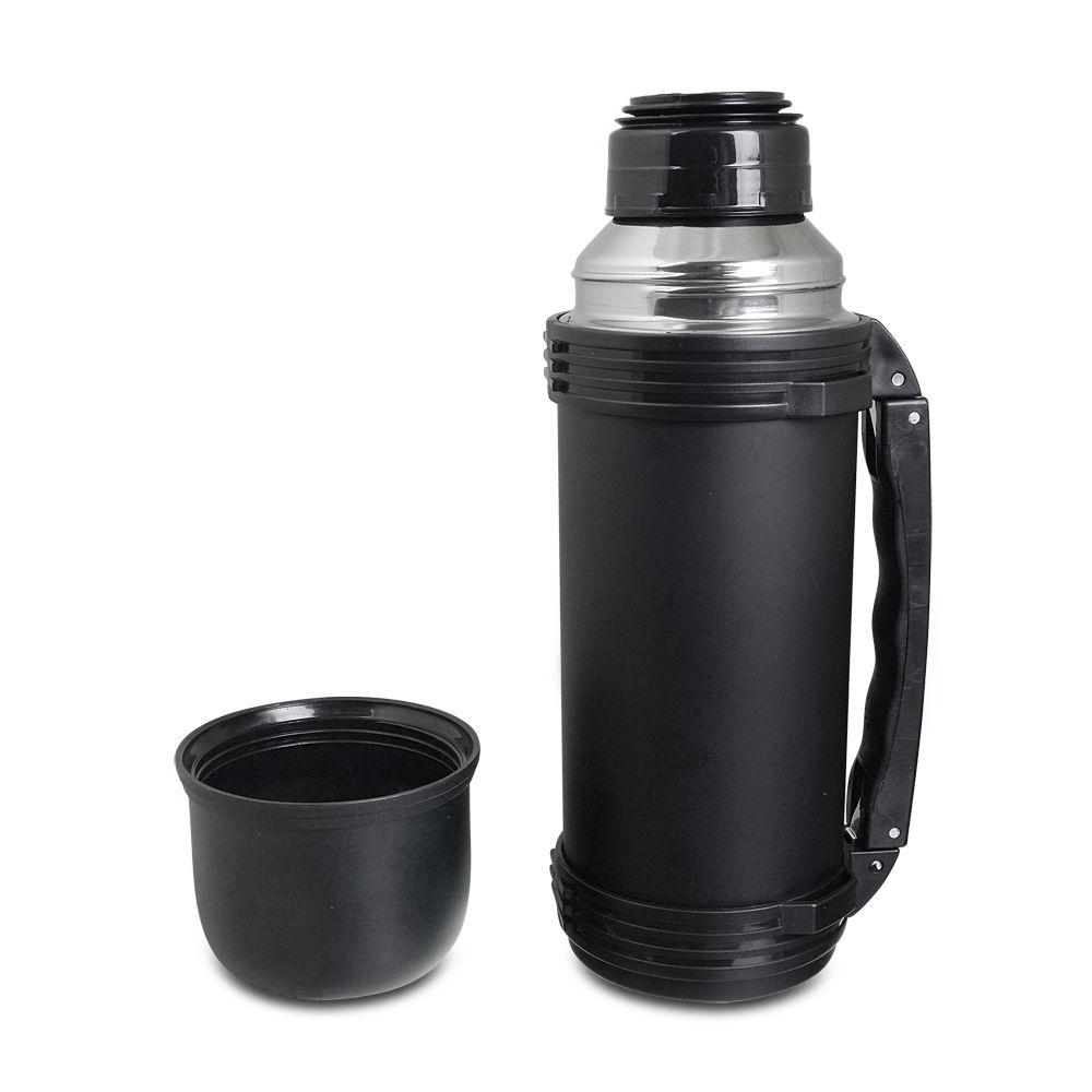 Kit chimarrão completo mateira café e Garrafa Térmica preta