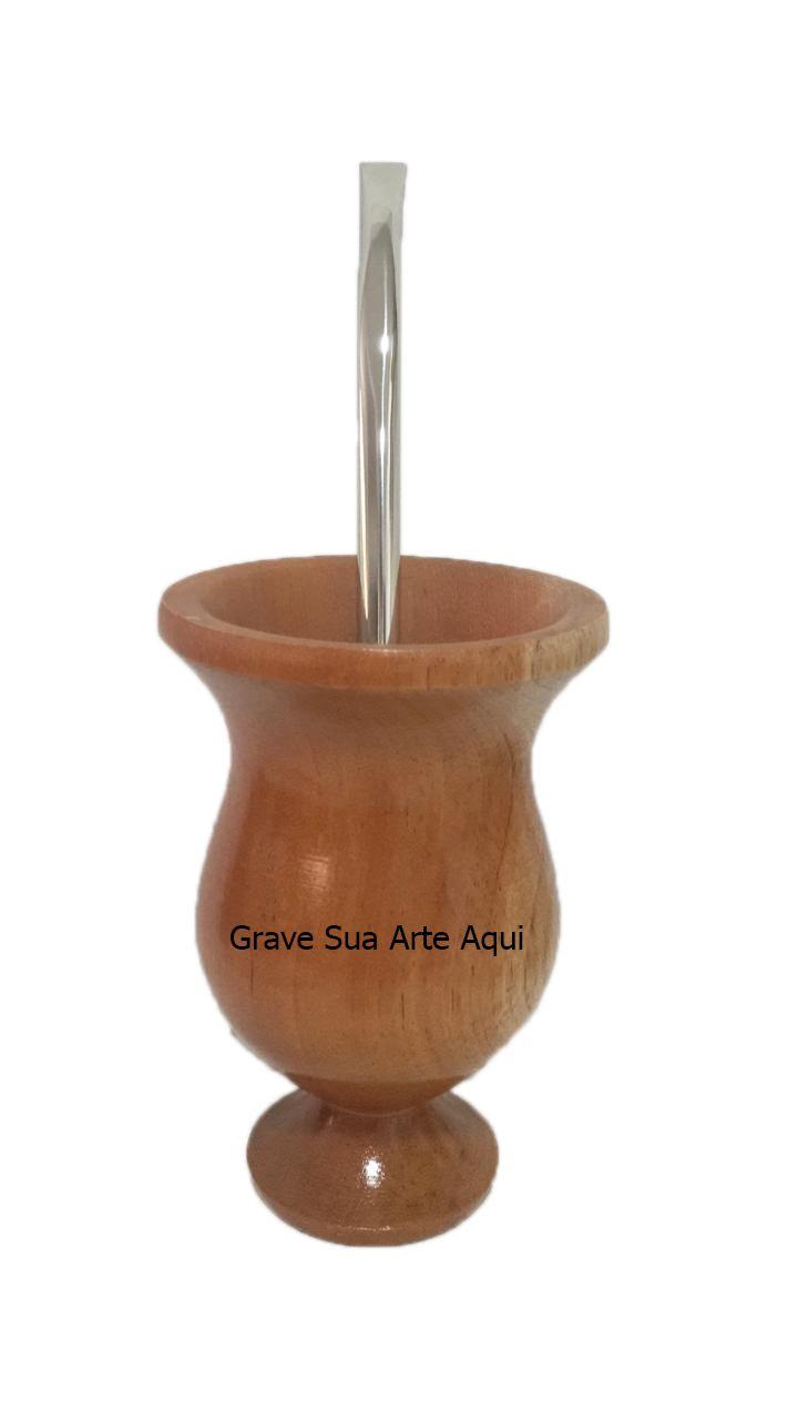 Kit Chimarrão de Madeira personalizado