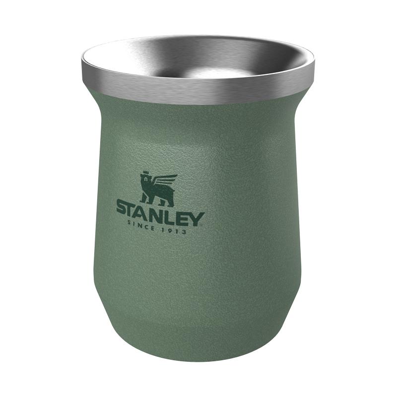 Kit Chimarrão verde Stanley Original Cuia e Garrafa