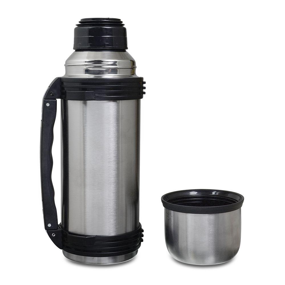Kit de Chimarrão personalizado Cuia lisa bomba e garrafa térmica