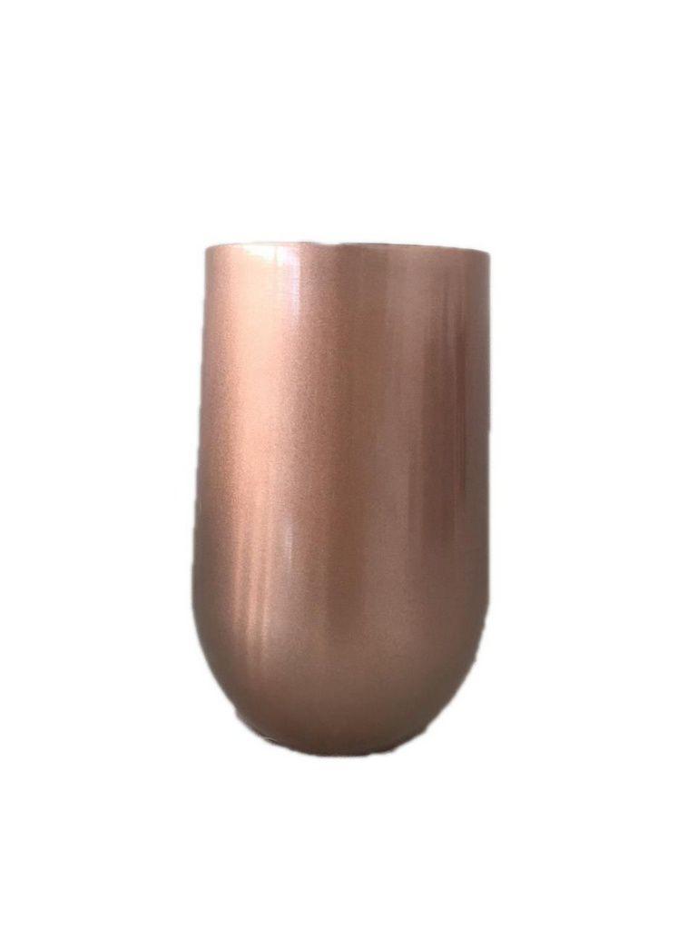 Kit tereré Copo Belli Rose 450 ml e Bomba Aço Inox