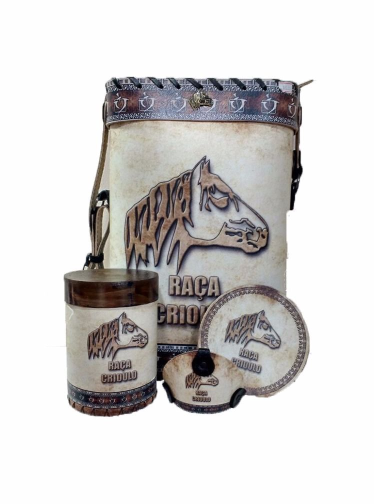 Mateira Chimarrão 2 litros Cavalo crioulo