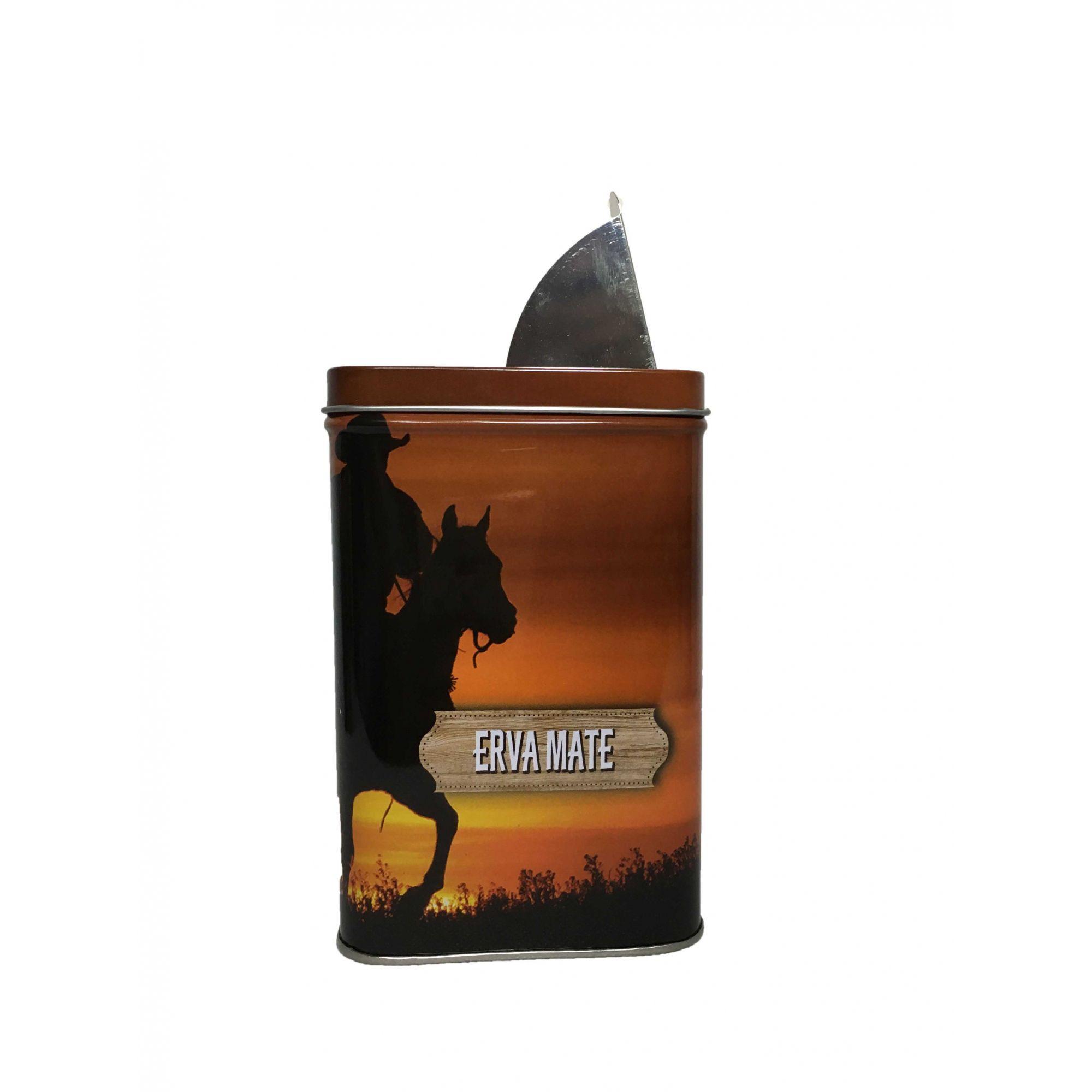 Porta Erva Lata com Dosador 400 g