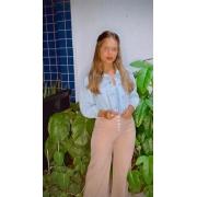 Pantacourt Pantalona Pespont Cód:15028