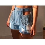 Short Jeans Strass Cód:15195