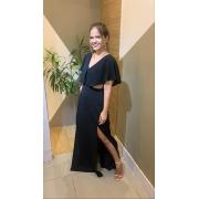 Vestido Crepe Recorts Cód:14902