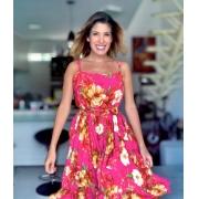 Vestido Curto Floral Cód:14944