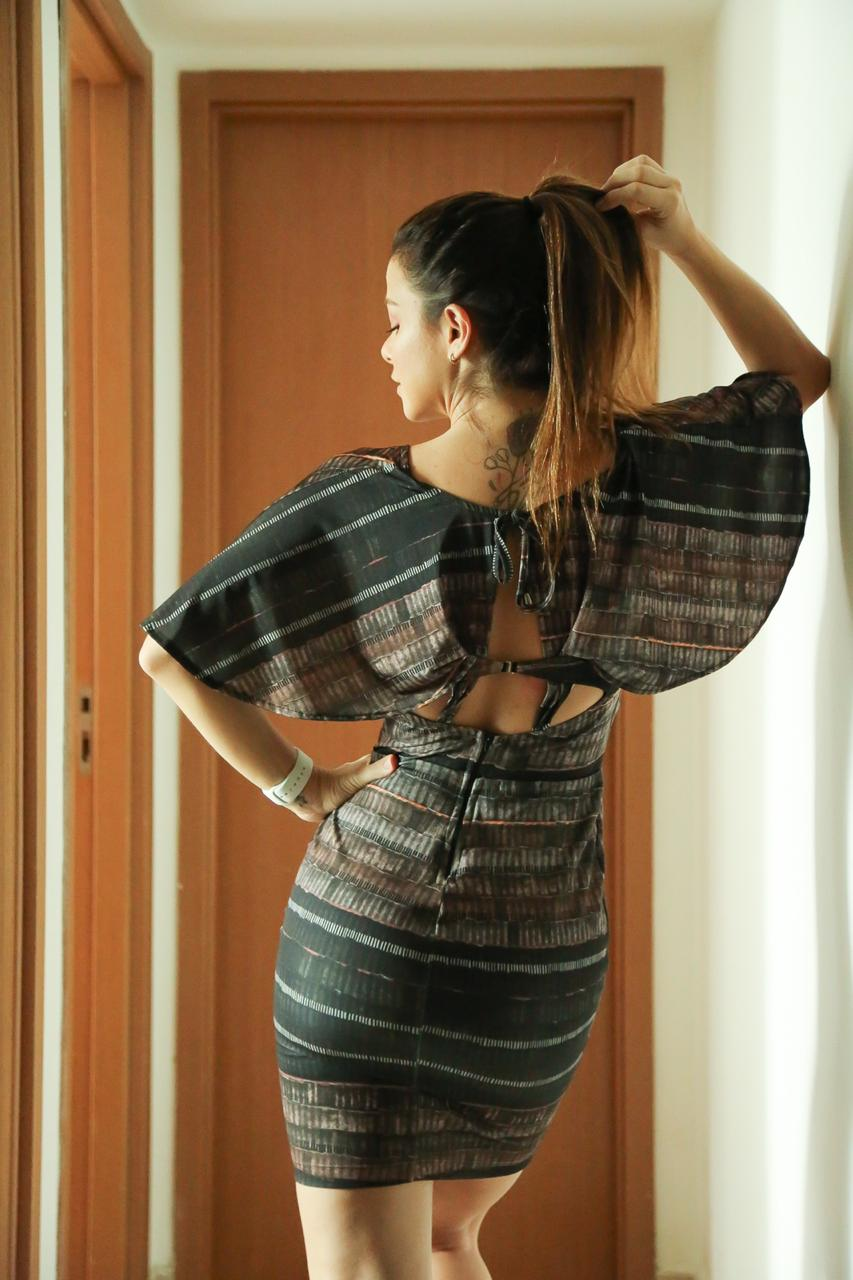 Vestido Justo Estampado Cód:14662