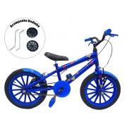 Bicicleta Infantil Aro 16 Grafitada Superman
