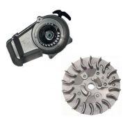 Puxador Partida e Magneto Mini Moto/quadricicl 49cc