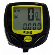 Velocímetro Digital Odômetro Wireless Bike À Prova D'água para Bicicleta Motorizada