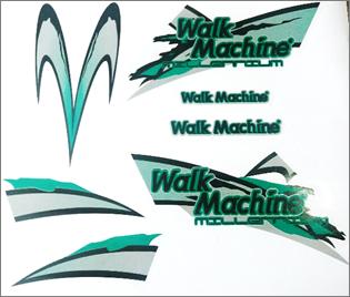 Adesivo Original Walk Machine