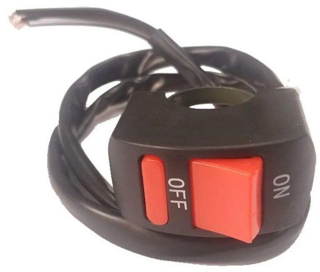 Botão Interruptor Liga e Desliga Mobilete / Bikelete / WMX50