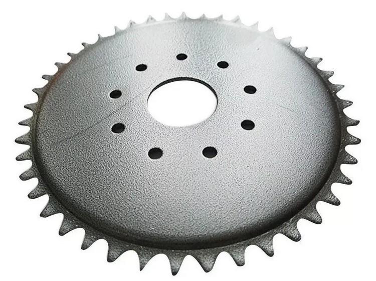 Coroa 44 dentes para Bicicleta Motorizada 80 CC