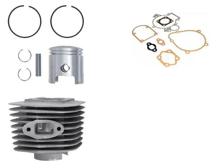 Kit Cilindro 80 CC Biela Baixa e Kit Junta Motor Moskito e Similares