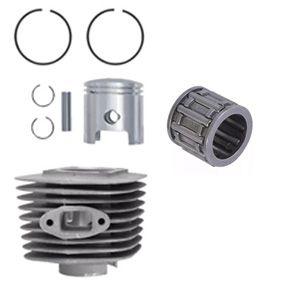 Kit Cilindro 80 CC Biela Baixa e Rolamento Gaiola Motor Moskito e Similares