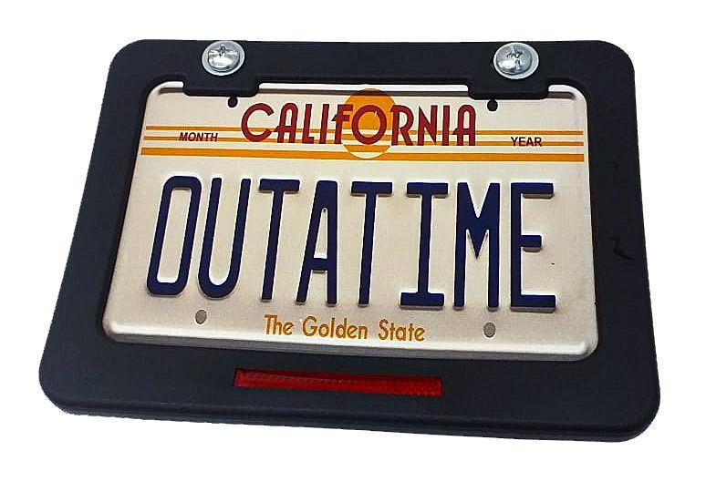 Placa de Identificação  Sinalização California para Ciclomotores em Geral
