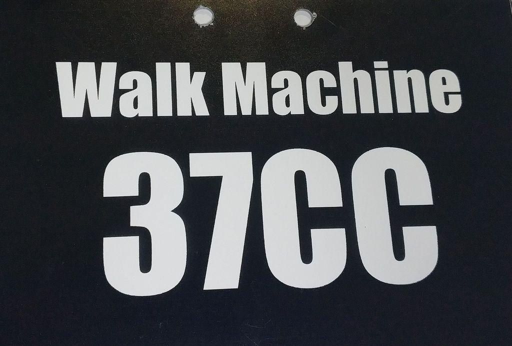 Placa Walk Machine 37 CC - Adaptavel em todas versões de Walk Machine