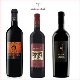 Kit Trio De Vinhos Italianos Primitivos di Maduria