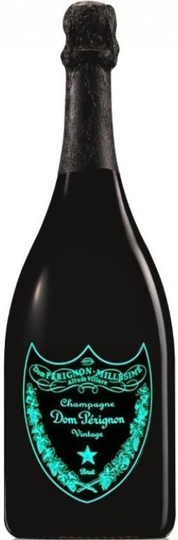 Champanhe Dom Perignon Luminous Label com LED