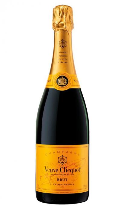 Champanhe Francesa Veuve Clicquot Brut