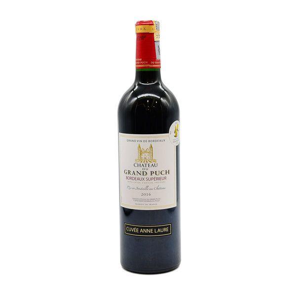 Vinho Tinto Frances Chateau du Grand Puch Bordeaux Superieur 2016