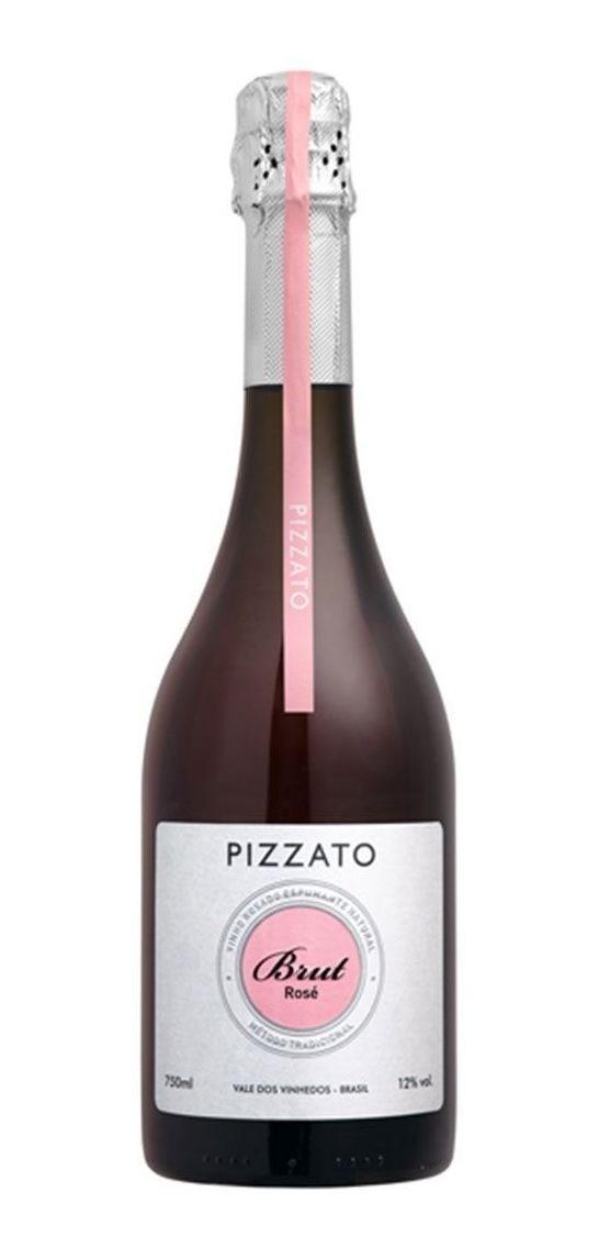 Espumante Brasileiro Pizzato Natural Rosé Met. Tradicional