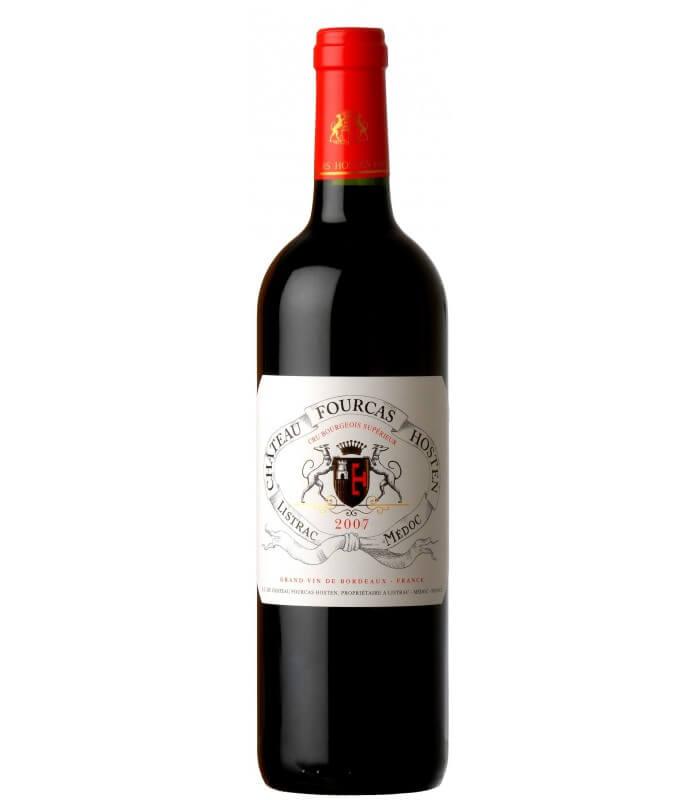 Vinho Tinto Frances Chateau Fourcas Hosten Listrac Medoc Grand Vin de Bordeaux 2007