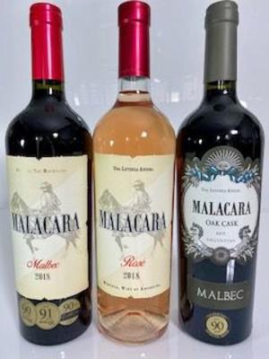 KIT de Vinhos Argentinos Malacara