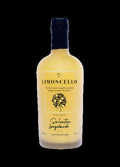 Licor Fino del Limão Italiano Limoncello 700ml