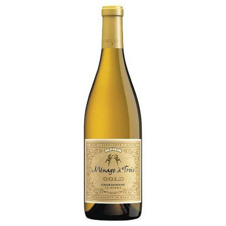 Vinho Branco Americano Menage a Trois Chardonnay Gold 2016