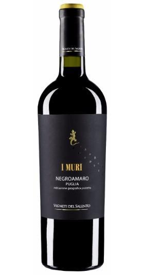 Vinho Tinto Italiano Negro Amaro I Muri 2018