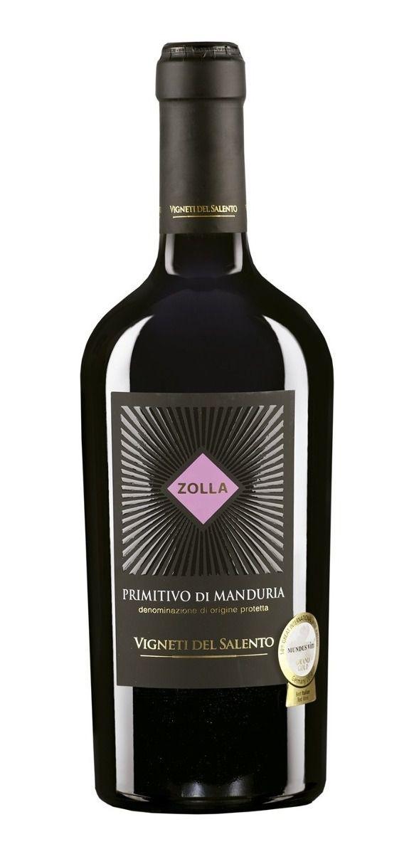 Vinho Tinto Italiano Primitivo di Manduria Zolla 2017