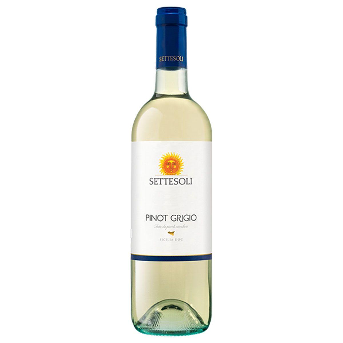 Vinho Branco Italiano Setessoli Pinot Grigio