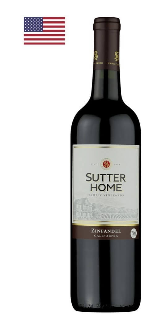 Vinho Tinto Americano Sutter Home Zinfandel