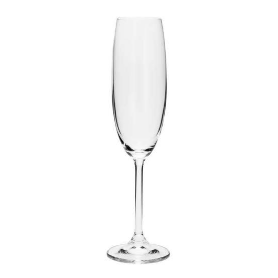 Taça de cristal flauta 230 ml Boemia