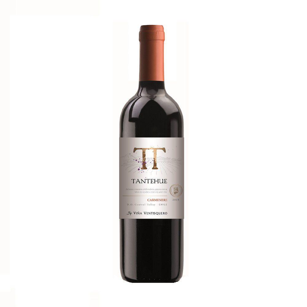 Vinho Tinto Chileno Tantehue Carmenere 2019
