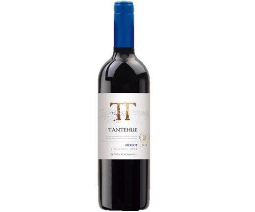 Vinho Tinto Chileno Tantehue Merlot 2019