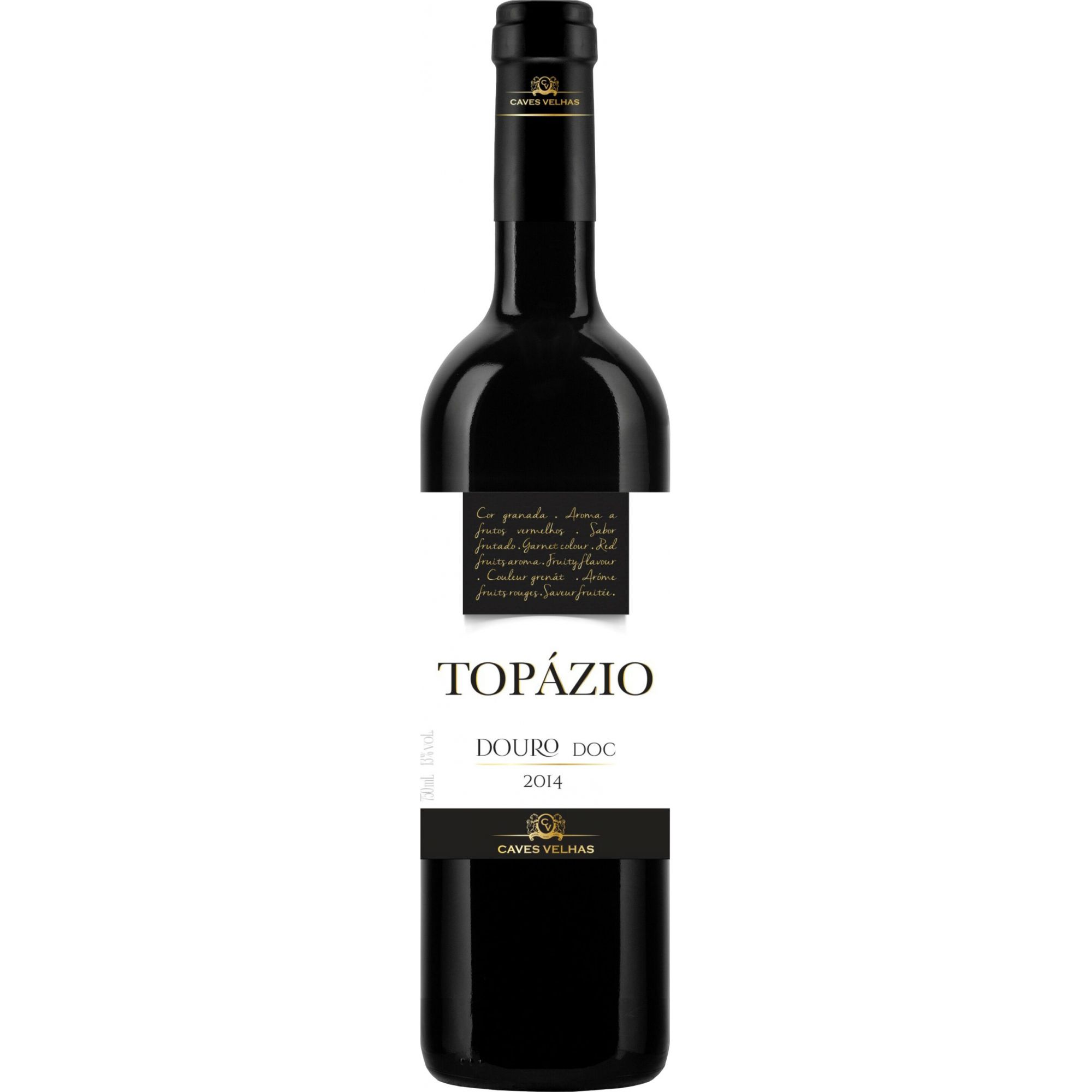 Vinho Tinto Portugues Topazio Douro Doc 2017