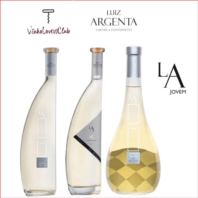Kit Trio de Vinhos Brancos Luiz Argenta