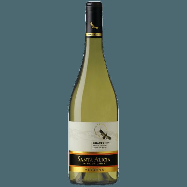 Vinho Branco Chileno Santa Alicia Chardonnay Reserva