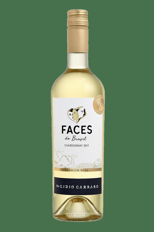 Vinho Branco Nacional Faces do Brasil Chardonnay Lidio Carraro