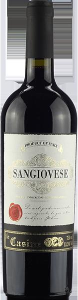 Vinho Italiano Tinto Sangiovese Le Casine