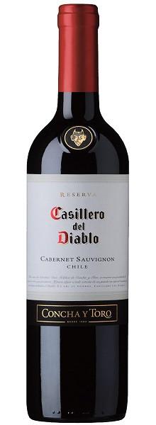 Vinho Tinto Chileno Casillero del Diablo Reserva Cabernet Sauvignon 2018