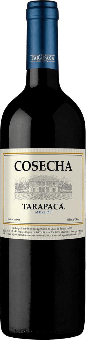 Vinho Tinto Chileno COSECHA Tarapaca Merlot 2020