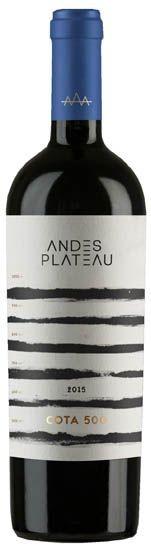 Vinho Tinto Chileno COTA 500 Cabernet Sauvignon 750ml